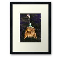 Tower Life Building San Antonio Tx Framed Print