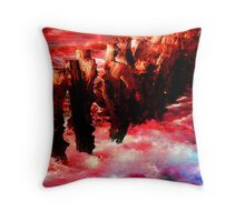 CROSSING OF THE RED SEA Throw Pillow
