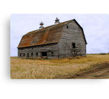 Rusty Roof Canvas Print