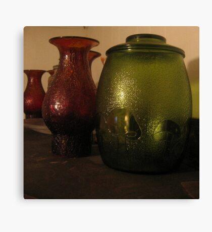 Cookie Jar & Lamp Shades Canvas Print