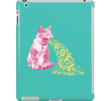 Word Vomit iPad Case/Skin