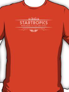 Startropics - Art Deco White T-Shirt