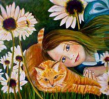 """Alice Wondering by Belinda """"BillyLee"""" NYE (Printmaker)"""