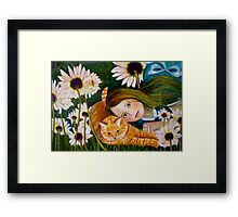 Alice Wondering Framed Print