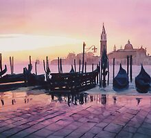 """Sunrise St. Marks"" Watercolor by Paul Jackson"