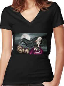 The Witching Hour Women's Fitted V-Neck T-Shirt