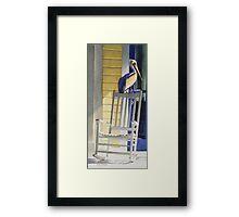 """Time Traveler"" Wildlife Watercolor Framed Print"