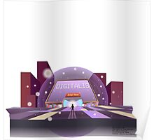 Digitalis World Poster