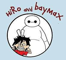 hiro and baymax pis by padasshop