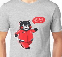 kumamon - let's get active! Unisex T-Shirt