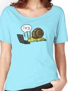 Snail Blogger Women's Relaxed Fit T-Shirt