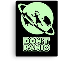 Hitchhiker's Guide to the Haunted Mansion Canvas Print