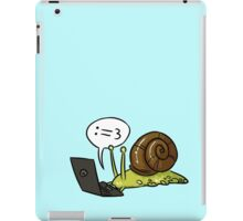 Snail Blogger iPad Case/Skin