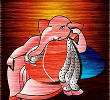 Ganesha by tandoor