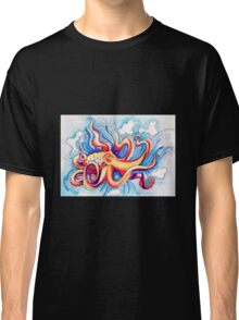 Blue octopus Classic T-Shirt