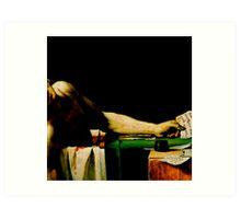 Deathconsciousness - The Death of Marat Art Print