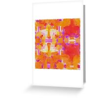 Paint Repeat Greeting Card