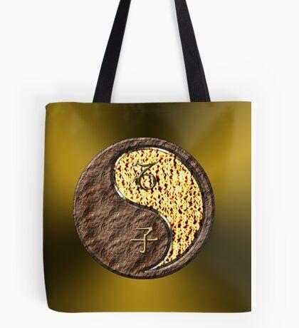 Capricorn & Rat Yang Fire Tote Bag