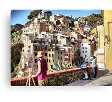 Pittura Riomaggiore I Canvas Print