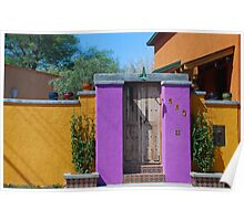 Colorful Tucson Home Poster