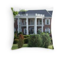 Conway Twitty Mansion - Henderson, Tennessee Throw Pillow
