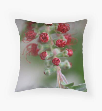 Natures Tubes Throw Pillow