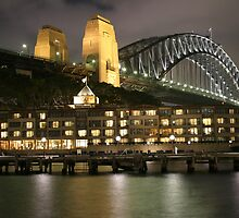 Sydney Australia: Hyatt Hotel by Claude Raiola