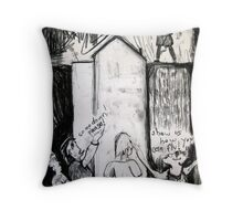 Suicide Attempt, Kings Cross Throw Pillow