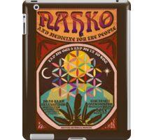 Nahko & Medicine for the People | Fan Made Poster iPad Case/Skin
