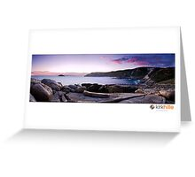 South West Coast Line Greeting Card