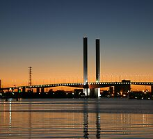 Melbourne Australia: Bolte Bridge Docklands Melbourne by Claude Raiola