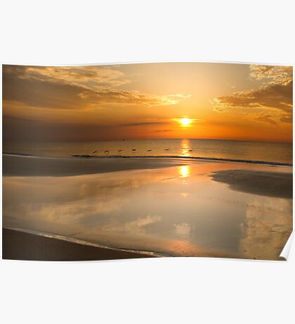 Reflections Of A Sunrise Poster