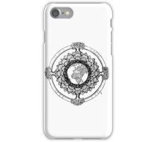 Earth Mandala (black) iPhone Case/Skin
