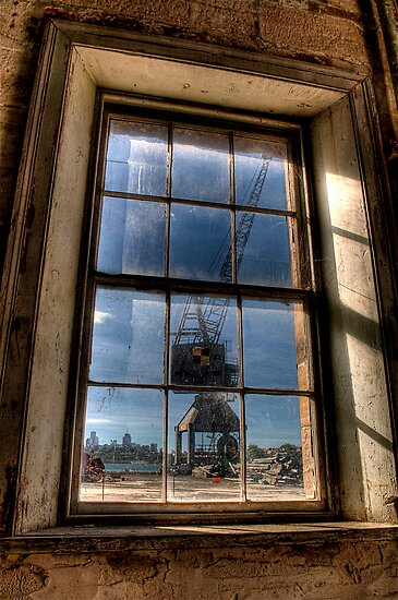Crane View by Leigh Nelson