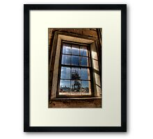 Crane View Framed Print