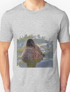 A  nice cool dip for a Seal.......... T-Shirt