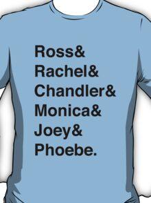 Friends & T-Shirt