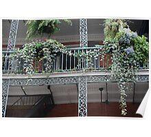 Balcony Beauty Poster