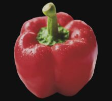 T-shirt: Red Pepper - nancypics by Nancy Lovering