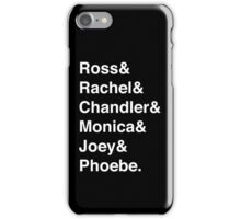 Friends & (Variant) iPhone Case/Skin