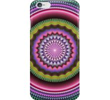 Colourful Mandala with tribal patterns iPhone Case/Skin