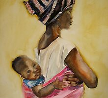 Malawian Mother by Shirlroma