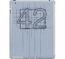 Hitchhiker's Guide to the Galaxy - 42 iPad Case/Skin