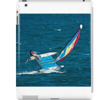 Hobie Cat on the Edge iPad Case/Skin