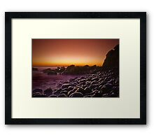 Empty sunrise Framed Print
