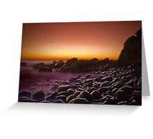 Empty sunrise Greeting Card