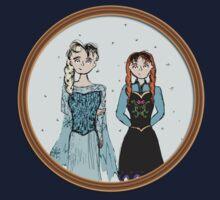 Anna & Elsa by teejayseadub