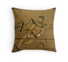 The_last_Bushranger Throw Pillow