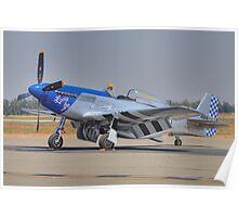 """P-51D """"Lady Go"""" Poster"""