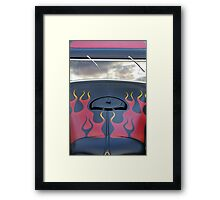 Flame And Fortune Framed Print
